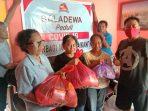 Relawan Baladewa Bantu Warga Terdampak Covid-19