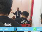 Herwin Diapresiasi Tokoh Pers Nasional, Iskandar Resmi Pimpin PWI Banggai