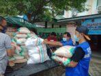 Paket Sembako Dinsos untuk Warga Terpapar Covid Disalurkan