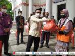 Bupati Amirudin Lepas Seribu Paket Sembako Darurat Rumah Zakat Banggai