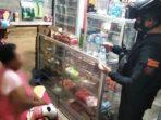 Polres Banggai Geledah Kios Warga di Luwuk Selatan