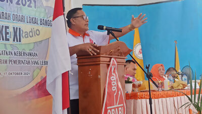 Terpilih Ketua ORARI Banggai, Simak Visi-Misi Alfian Djibran