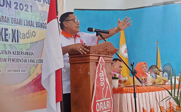 Ketua ORARI Banggai